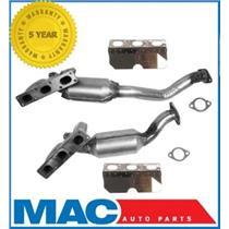 X5 330Xi 330Ci Frt & Rr Catalytic Converter & Gaskets Kit 4558 & 4559 NO SULEV