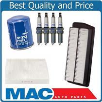 4 Ngk Laser Iridium Plugs Air Oil Filter Cabin Air for Acura RDX 2.3L 07-12