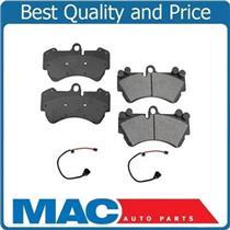 04-06 Cayenne Touareg Brake Ceramic Disc Pads & Sensors Front 17 Inch 330MM
