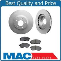 (2) Front Brake Rotors & Ceramic Pads Fits for 2004 Altima 3.5L SE-R V6 Only