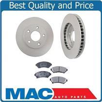 (2) Premium 55036 Disc Brake Rotor With CD699 Ceramic Front Pads