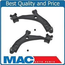 (2) 100% New L&R Lower Control Arm BJ W/ Bracket Bushings for Volvo C30 08-2013