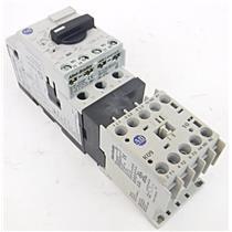 AB Allen Bradley 100-K09 10 Mini Contactor with 140M-C2E Circuit Protector