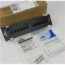 New Leviton 004-69586 eXtreme 6+ 12 Port Universal Patch Block Panel T568B