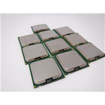 Lot of 10 Intel Pentium 4 640 Socket 755 CPU Desktop Processor SL7Z8 3.2GHz