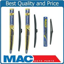 New Front & Rear Brand Wiper Blades 3 Pc Kit Fits for Fiat 500 11-17