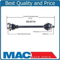 00-04 Audi A6 Quattro FRONT PASSENGER SIDE  New CV Drive Axle Shaft M/T ONLY!!!