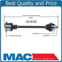 02 Audi A4 Quattro 1.8T M/T D/S New CV Drive Axle Shaft FTZ transmission Code