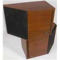 Genuine Bose 2.2 Left & Right Direct Reflecting Speakers Bookshelf Wood Grain