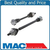 (2) 100% New CV Shaft Axle Assembly For 05-10 VW Jetta 2.0L Manual Transmission