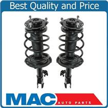 (2) 100% New FRONT Complete Coil Spring Struts for Toyota Camry SE 3.5L 07-11