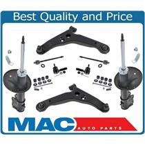 12 Piece Suspension Kit Lower Control Arms Ball Joints Tie Rods Sway Bar Links Complete Struts Rear Shocks Fits For 2003-2005 Honda Pilot AWD