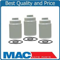 100% New (3) Duramax Diesel Fuel Filters For 01-15 Chevrolet GMC 6.6