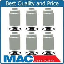100% New (6) Duramax Diesel Fuel Filters For 01-15 Chevrolet GMC 6.6