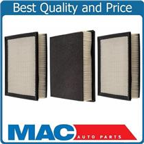 (3) 100% New Air Filter For 94-2002 Ram 2500 3500 Pick Up 5.9L Turbo Diesel