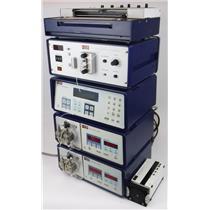 Lot of LKB HPLC Liquid Chromatograph Components 2152-020 2150-020 & 2151-010