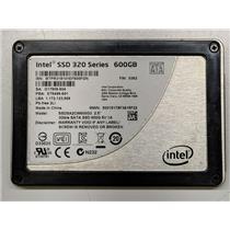 """Intel SSD 320 Series 600GB Solid State Drive SSDSA2CW600G3 2.5"""" SATA II 3Gbps"""