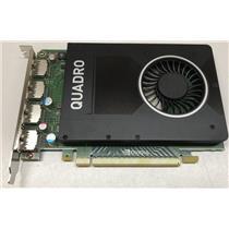 Dell NVIDIA Quardo M2000 4GB Graphic Card W2TP6 Quad Display Ports