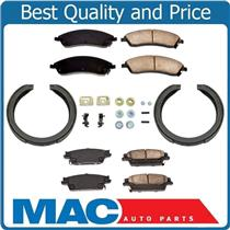 100% New Front Rear Brake Pads Brake Shoes Springs Kit for Cadillac SRX 04-09