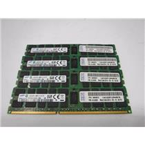 Lot of 4 16GB Samsung PC3-14900R DDR3 Registered Server Memory Computer RAM