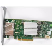 Dell G164P SAS 6Gbps HBA Serial SCSI PCIe Adapter External Controller Card