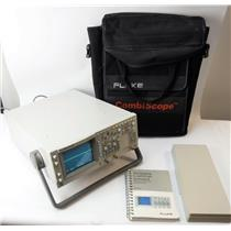 Fluke PM3380B Autorange Combiscope 100Mhz 10Gs/s Repetitive 200MS/s Single Shot