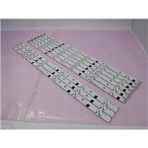 SAMSUNG 2012SVS46 3228 FHD R/L 06 LED STRIPS For UN46FH6030F Set Of 9 Strips