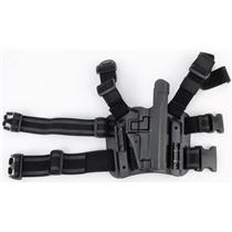 Blackhawk C1378 Sig 220 228 229 Drop Leg Gun Holster C1370 Base C1319 RH