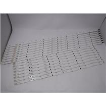 Samsung HG65ND478RF LED Backlight Strip E88441 2014SVS65F 3228 R06 L08 16 Strips