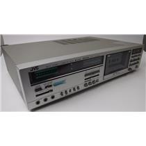 JVC DD-9 Dolby Stereo Cassette 3-head Deck W/ Quartz Lock Drive TESTED & WORKING