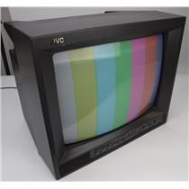 "JVC TM-A13SU 13"" Color CRT Video Monitor Retro Gaming - TESTED & WORKING"