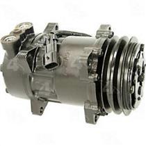AC Compressor 4s 97551 fits Sanden Kenworth Peterbilt (One Year Warranty)