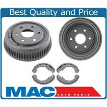 With 6 Lugs & 10 Inch Rear Brake Drums W/ Brake Shoes fits 95-00 Chevrolet Tahoe