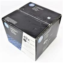 NEW Genuine HP Dual Pack 42X Laserjet Q5942X High Volume Black Print Cartridge