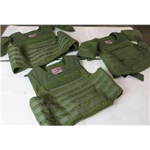 Lot Of 3 Point Blank Ballistic Carrier Vests - Carrier Vests Only - NO PLATES