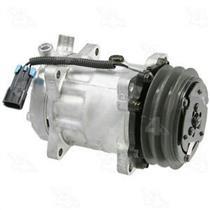 AC Compressor 58770 SD7H15 Ear Mount 2 Groove (1 Year Warranty) Reman