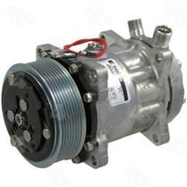 AC Compressor 4 Seasons 78565 SD7H15 8 Groove (One Year Warranty) Reman