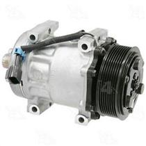 AC Compressor 4 Seasons 58796 SD7H15 8 Groove (1 Year Warranty) Reman