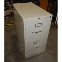 ***LOCAL PICK-UP ONLY*** Hon Metal 2-Drawer Cabinet 27'' L x 15'' W x 29'' H