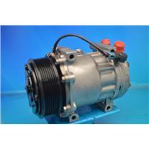 A/C Compressor 58785 Fits Sanden 4822 Kenworth Peterbilt Navistar (1yr Warranty)