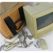 Vintage Apple Macintosh SE Computer M5011 W/ Soft Case  NO POWER SEE DESCRIPTION