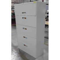 ***LOCAL PICK-UP ONLY*** Beige Metal 5-Drawer Filing Cabinet