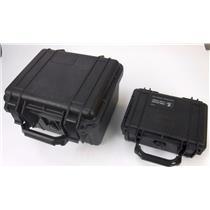 Lot of 2 Pelican Cases (1200 Case & 1120 Case) - Good Condition