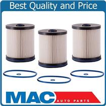 THREE New Fuel FilterS REF# 84186990 for Chevrolet Express 2500 3500 2.8L 17-19
