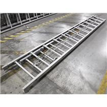 *** LOCAL PICKUP ONLY *** Aluminum 28' Extension Ladder with Rung-Locks
