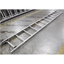 ***LOCAL PICKUP ONLY*** Duo-Safety 14' Aluminum Hook Ladder