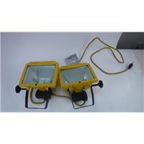 Home Lite 1000 Watt Twin Head Halogen Worklight Set by Designer's Edge