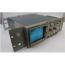 Tektronix 2216 Four Channel Digitizing Oscilloscope W/ Rackmount TESTED / WORKS