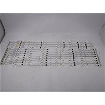 Samsung UN60EH6002AF LED Backlight Strip 2012SVS60 3228 R08 L08 REV1.6 12 Strips