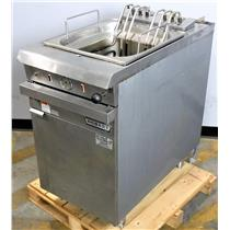 Hobart HCK40 Electrick Stainles Steel Commercial Deep Fryer
